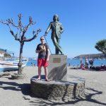 Pomnik Salvadora Dali w Cadaques