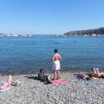 Główna plaża w Cadaques